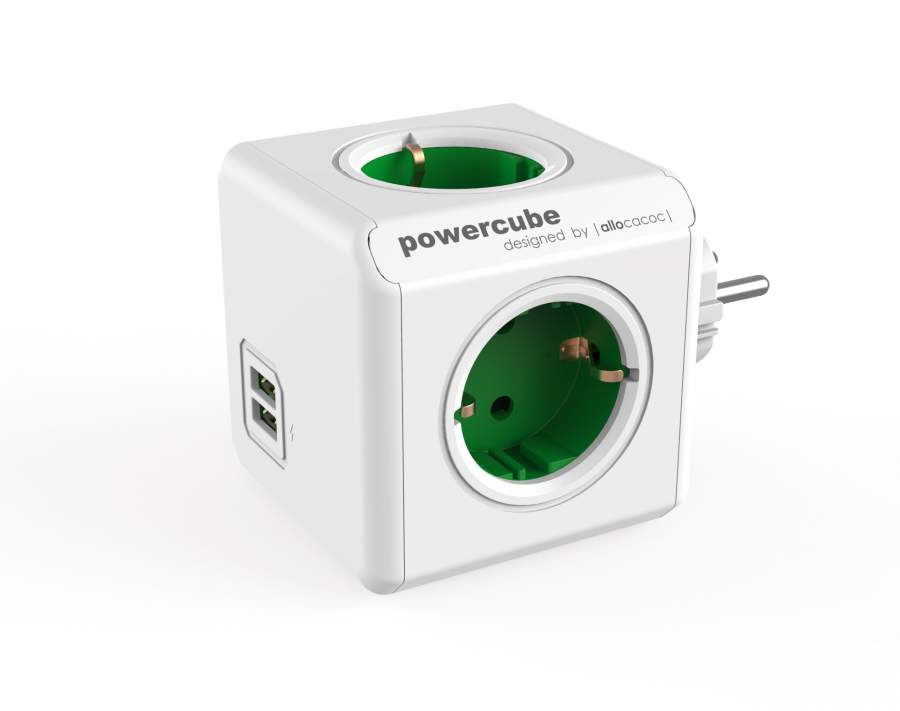 PowerCube Original USB DE; GREEN