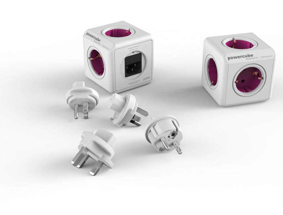 PowerCube ReWirable + 4x plug DE
